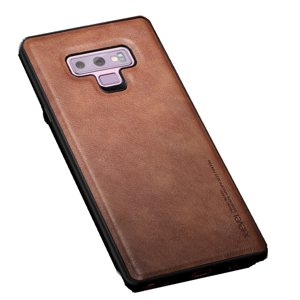 PU Leather Case for Samsung Note 9 Soft Silicone Edge Shockproof Back Phone Cover for Samsung Galaxy Note 9 Case