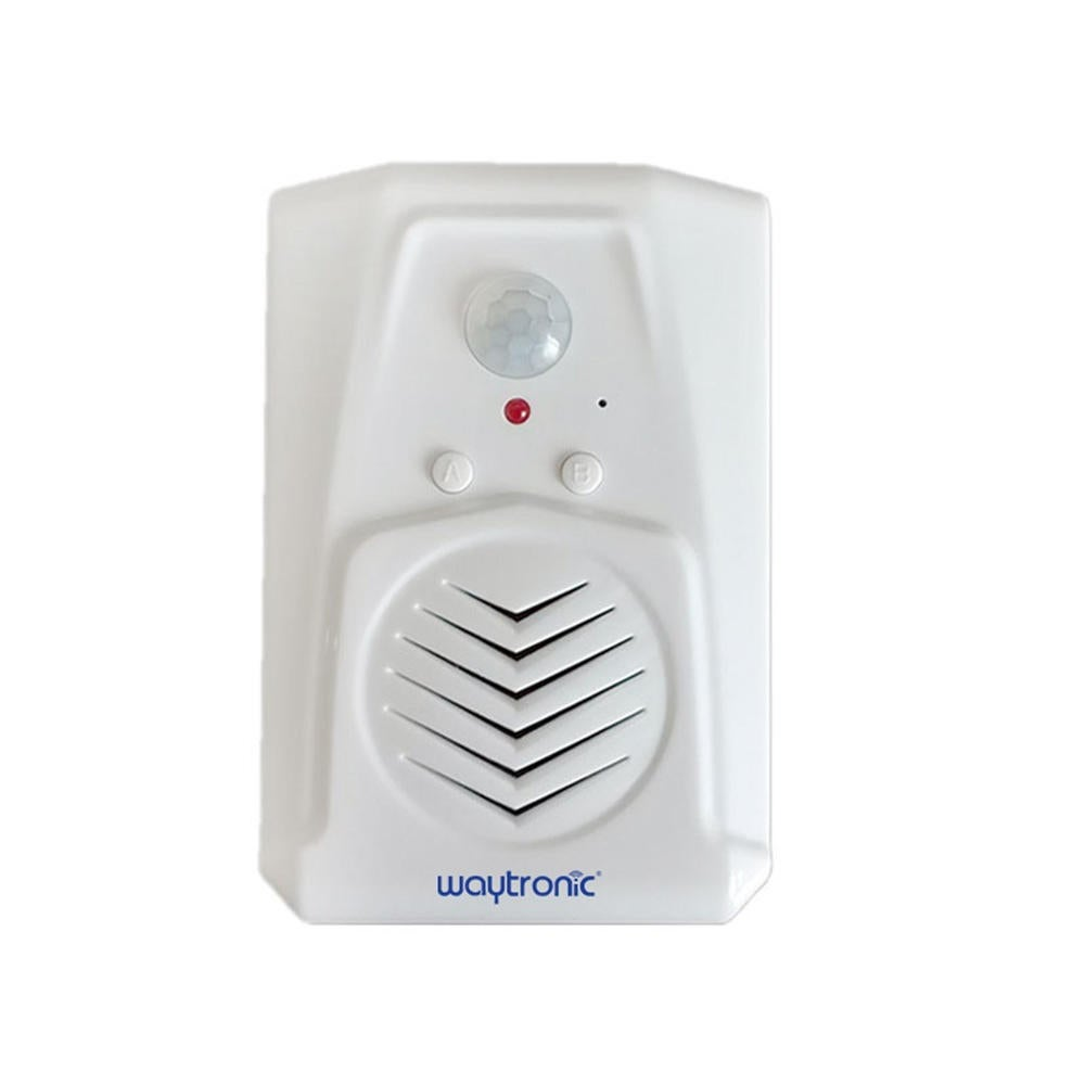 Sound Speaker Wireless PIR Motion Sensor Activated Voice Player Welcome Chime Bell for Haunted House