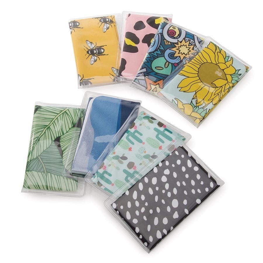 IS Gift Microfibre Cleaning Cloths Assorted Patterns