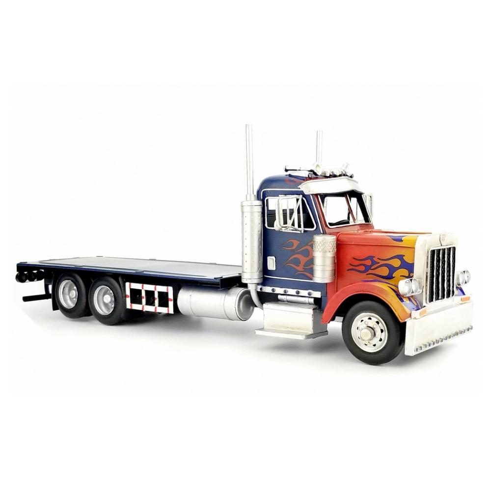 Replica Peterbilt 379 Optimus Prime Diecast Tissue Box Truck
