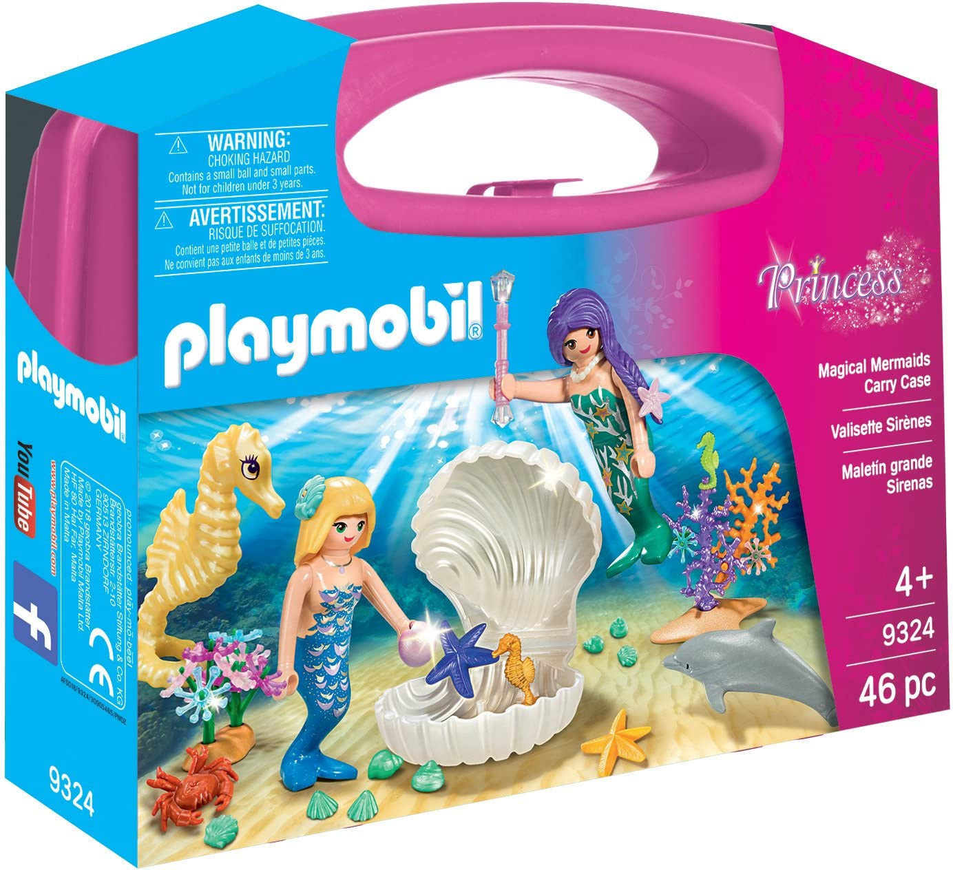 Playmobil 9324 Playmobil Mermaids Carry Case