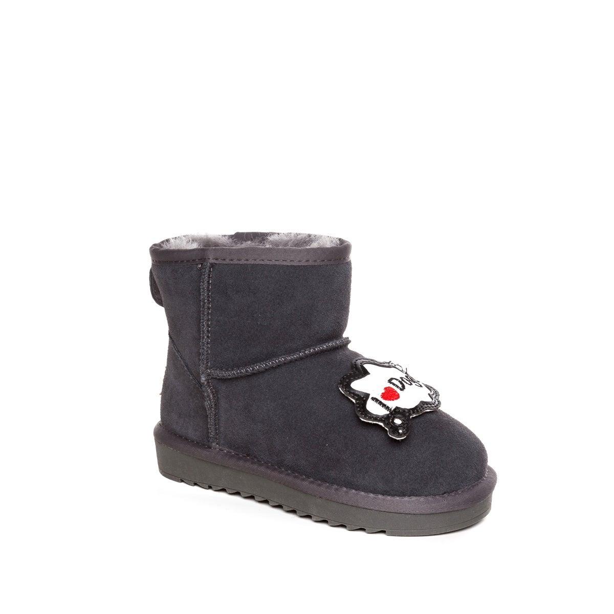 OZWEAR UGG KIDS I LOVE DOG MINI BOOTS