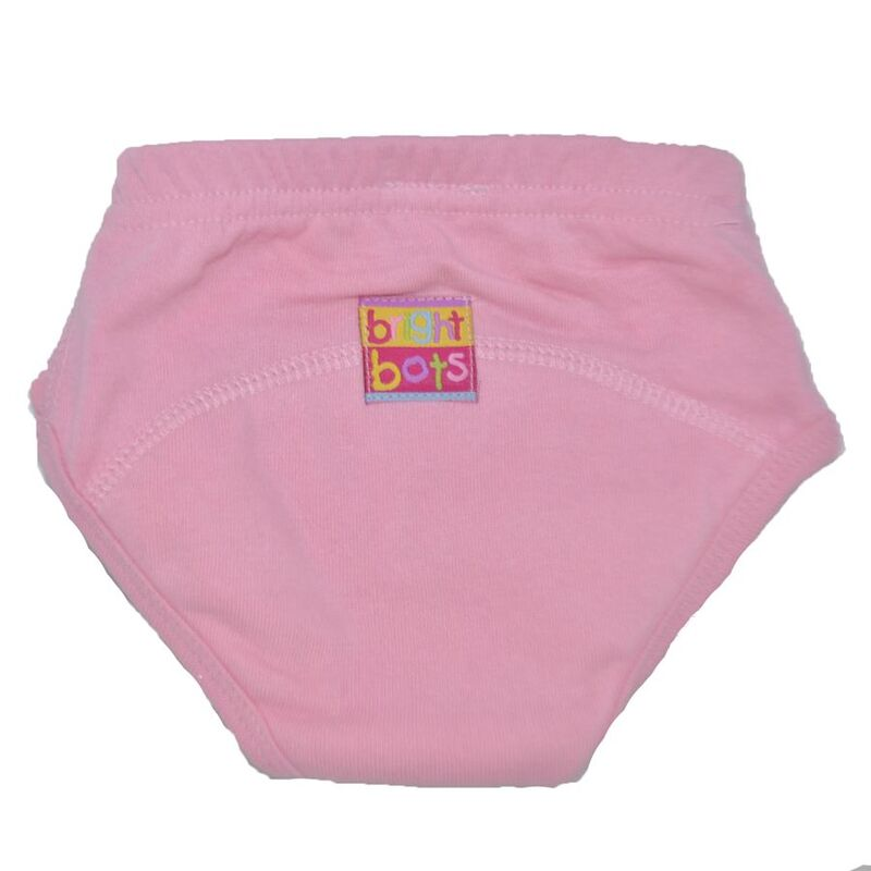 Bright Bots Toilet Training Pants - Pale Pink - Small 3 Pack