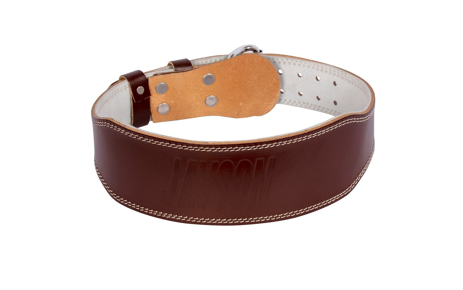 Weight Lifting Genuine Leather Belt for Bodybuilding By Javson