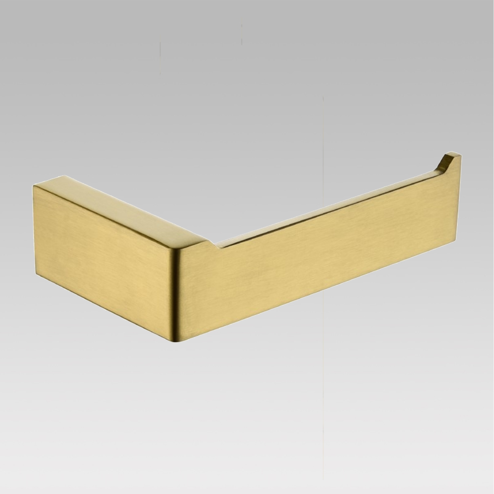 Cavallo Brushed Yellow Gold Toilet Roll Holder