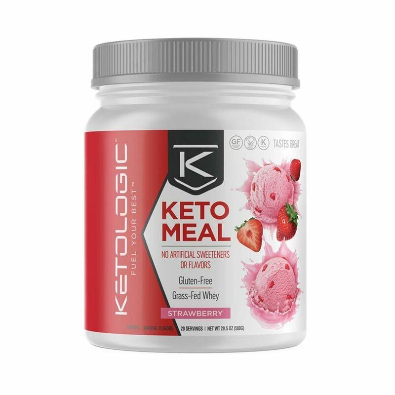 Ketologic Keto Meal Strawberry - 840g