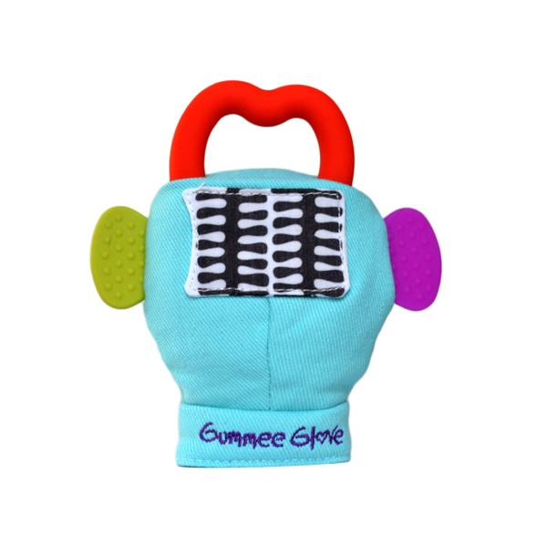 Gummee Glove - Turquoise Teething Mitten