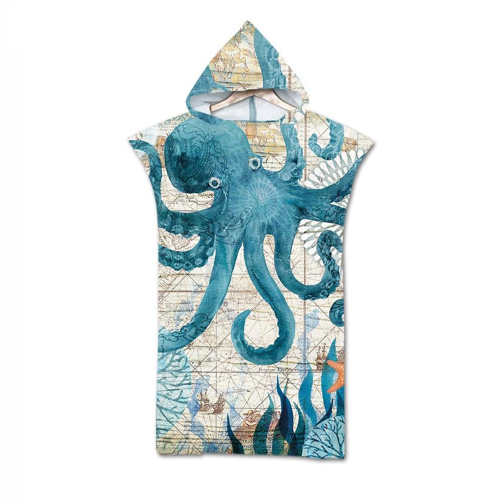 Adult Hooded Bath Towel Beach Towel