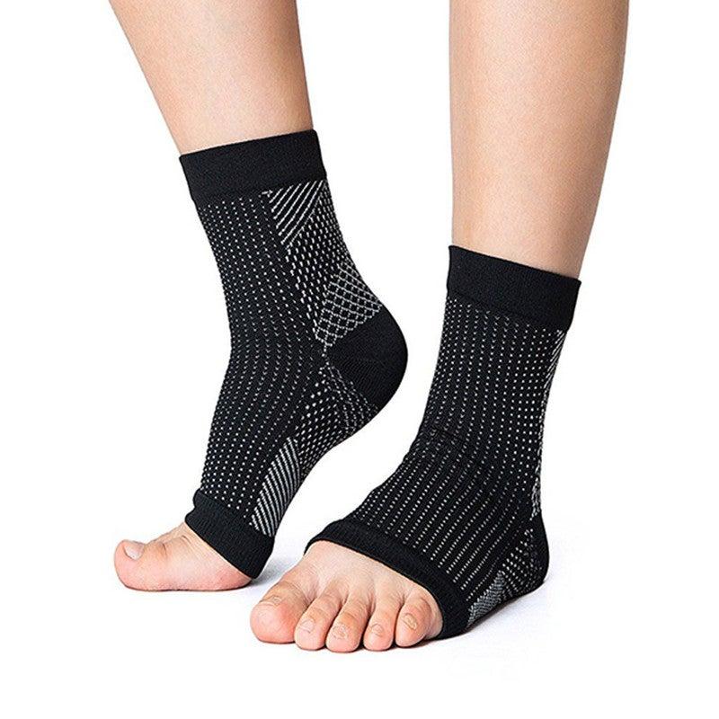 Foot Ankle Compression socks Foot Sleeve Plantar Arthritis Sore Achy Heel Pain