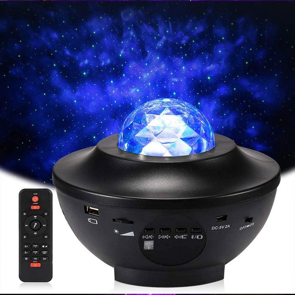 LED Galaxy Projector Light Starry Night Lamp