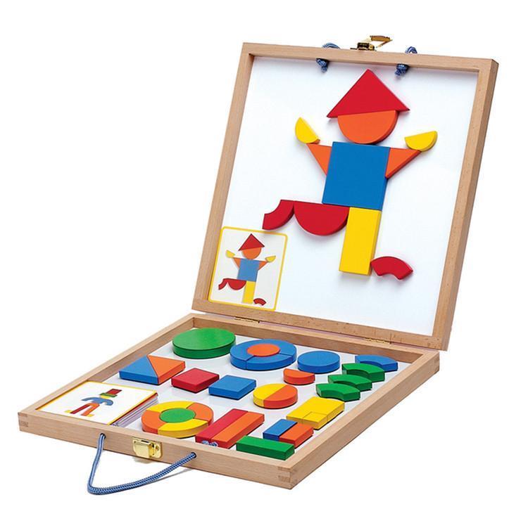 Djeco - Geoform Magnetic Puzzle