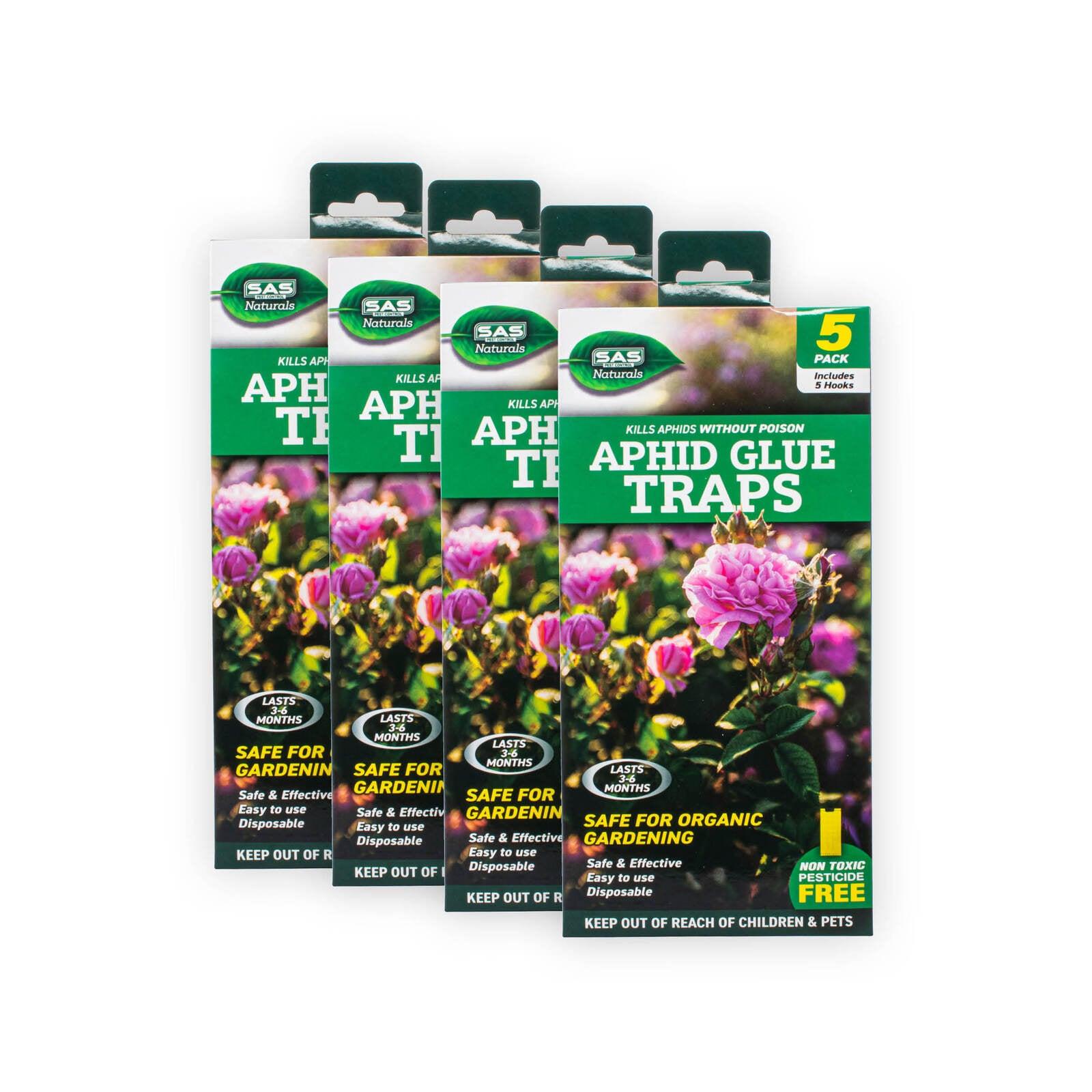 20PCE Traps Aphid Glue Safe Effective Greenhouse Garden White Flies Leaf Miner