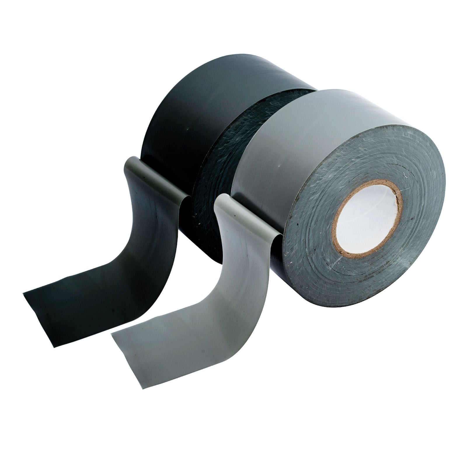 Handy Hardware® 2PCE Heavy Duty Duct Tape 50m x 48mm Silver and Black