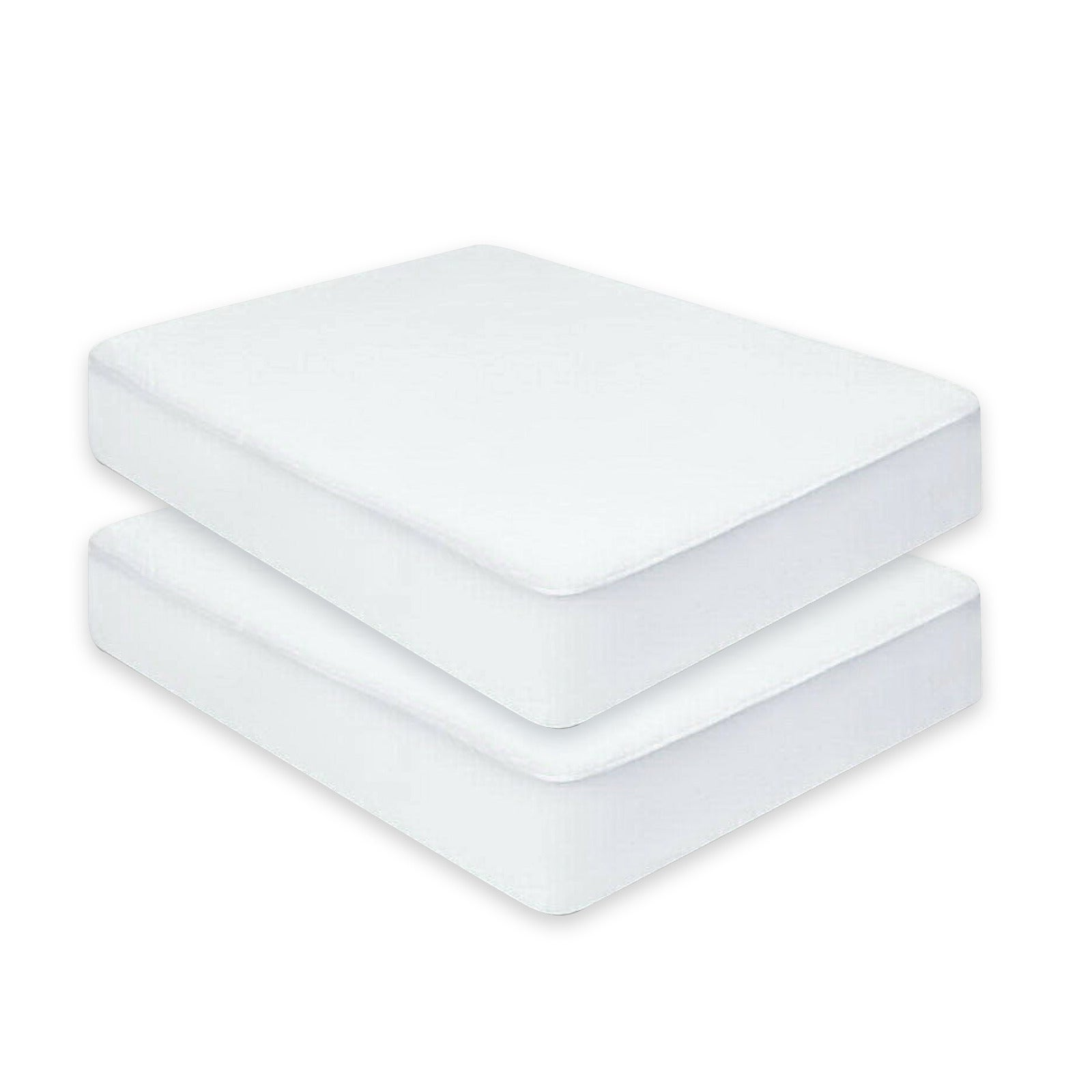 Home Master® 2PCE Mattress Protector King Size Elastic Fit 195 x 200cm