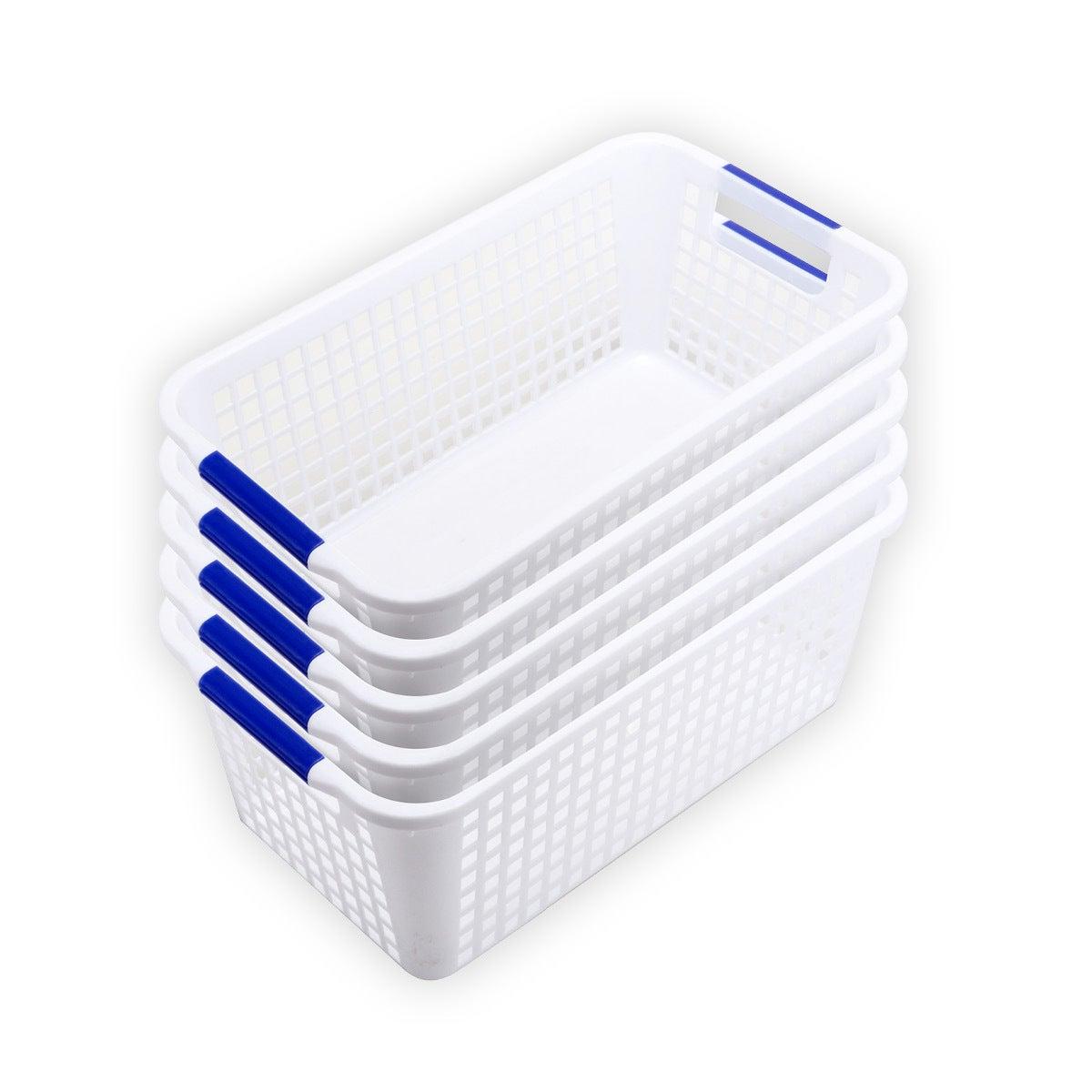 Home Master® 5PCE Storage Baskets Multi Purpose Space Saving 16 x 30 x 12cm