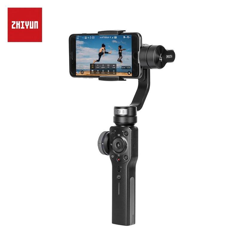 Zhiyun Smooth 4 Handheld 3-Axis Digital Stabiliser for Smart Phones
