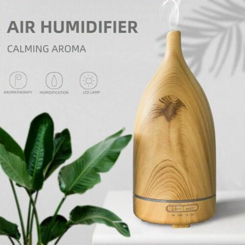 Diffuser Aroma Aromatherapy Essential Air Humidifier Oils UltrasonicAU