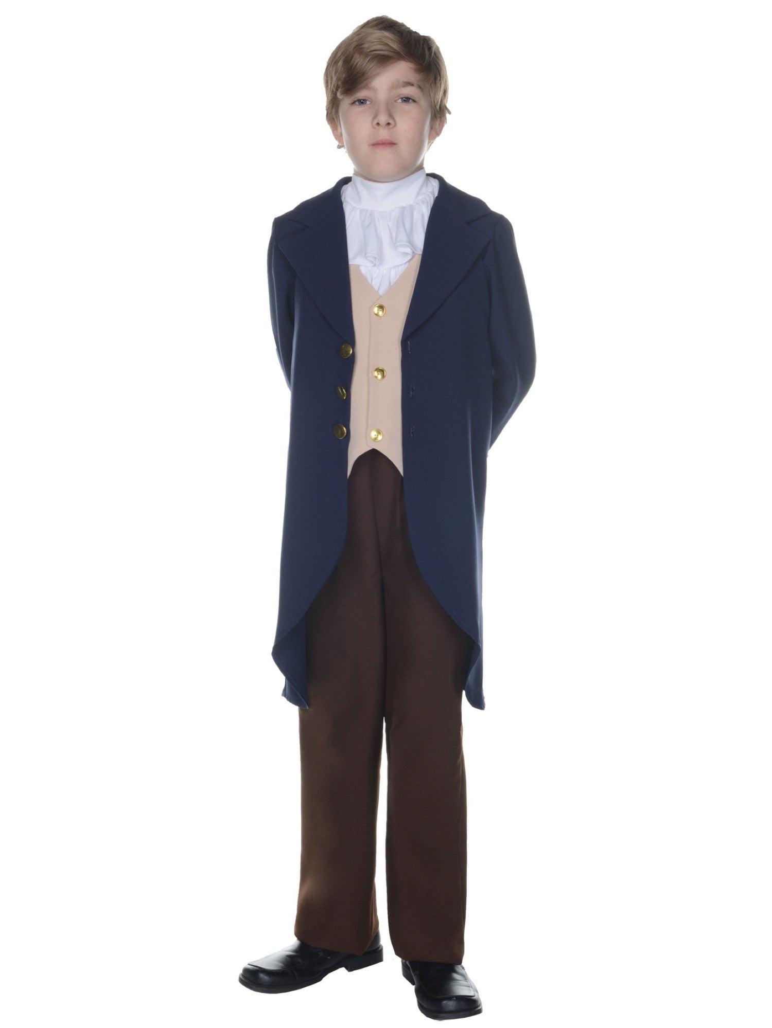 Hobbypos Thomas Jefferson US President Founding Father Colonial Victorian Boys Costume