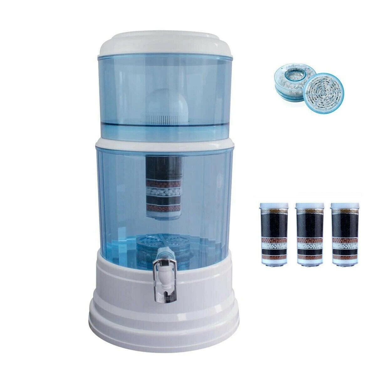 20L Aimex Water Purifier + 2 X 8 Stage Water Filter + Maifan Stone Dispenser