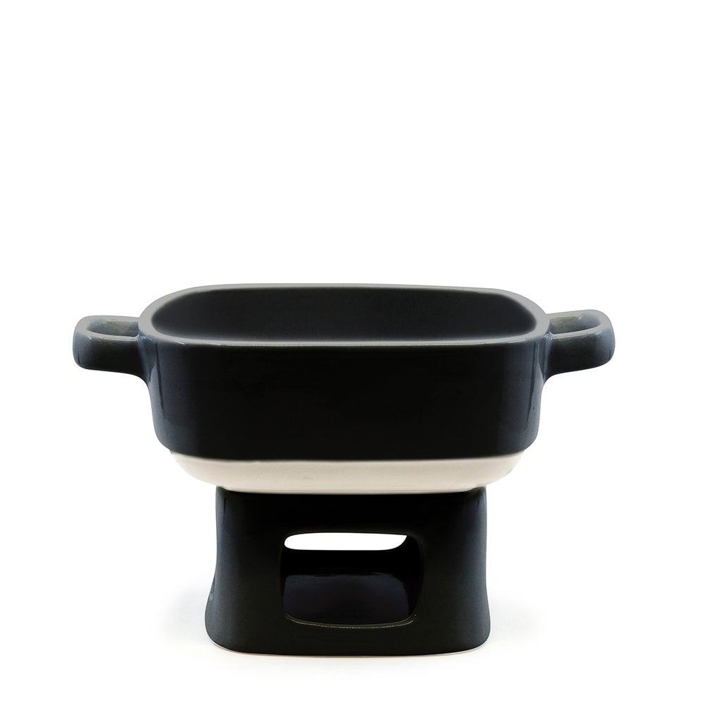 salt&pepper Beacon Fondue Set - Black