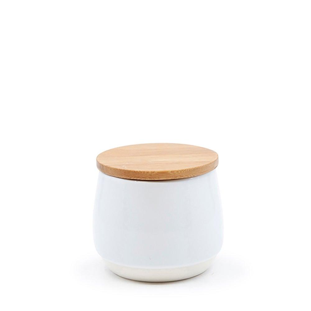 salt&pepper BEACON Sugar Bowl - 10x9cm - White
