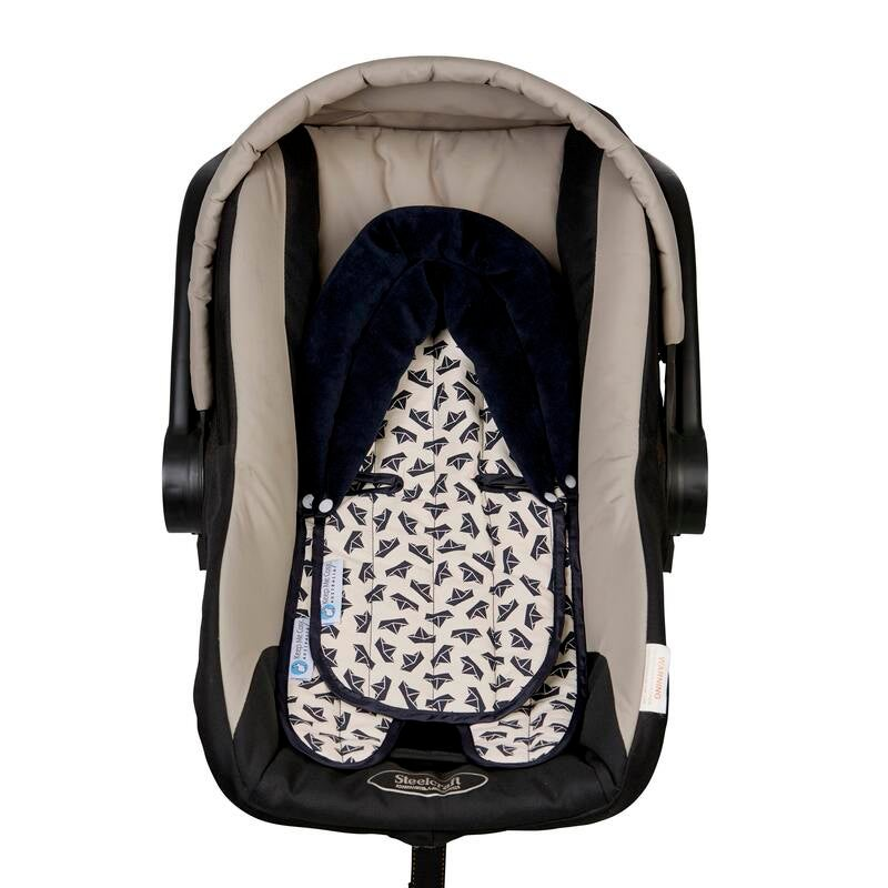 Keep Me Cosy Head Support Pillow for Car Seat or Pram (Twin Pack) - Woodland Friends