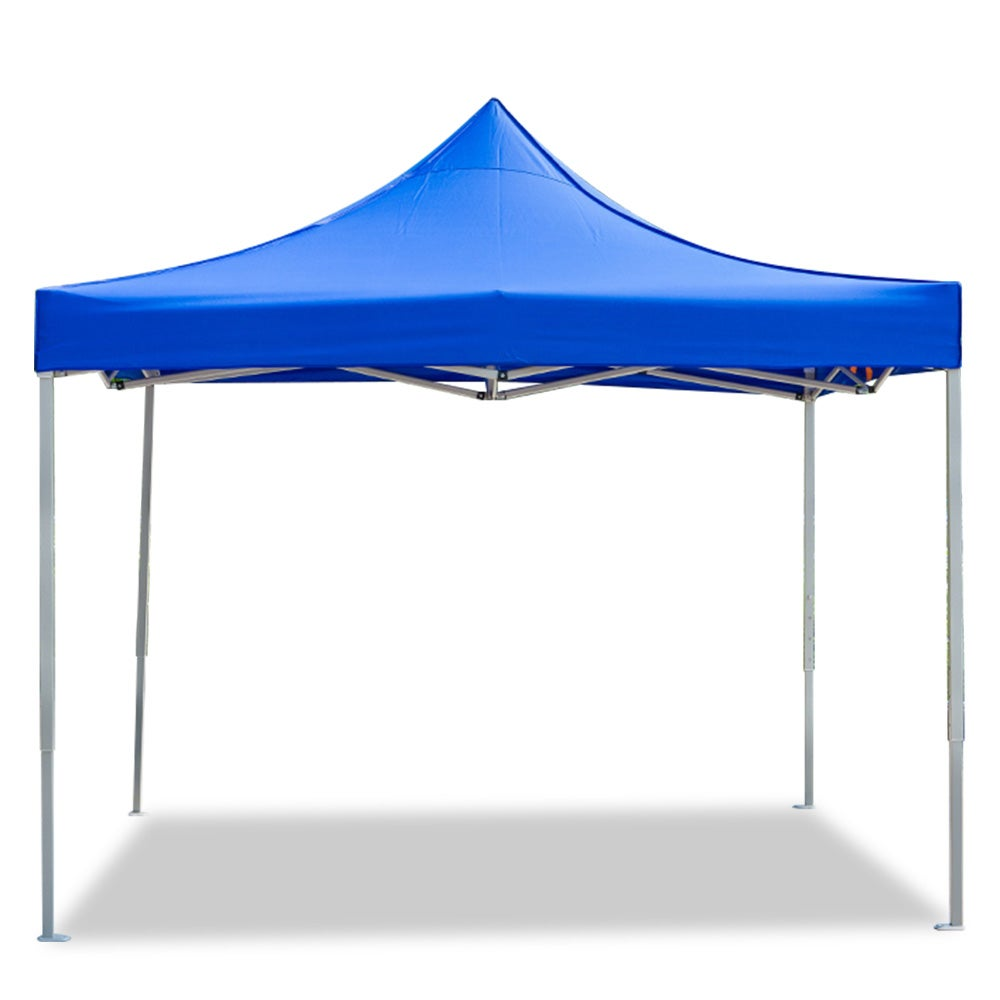 3x3 Gazebo Folding Marquee Tent Outdoor Picnic Camping Waterproof Shade Blue