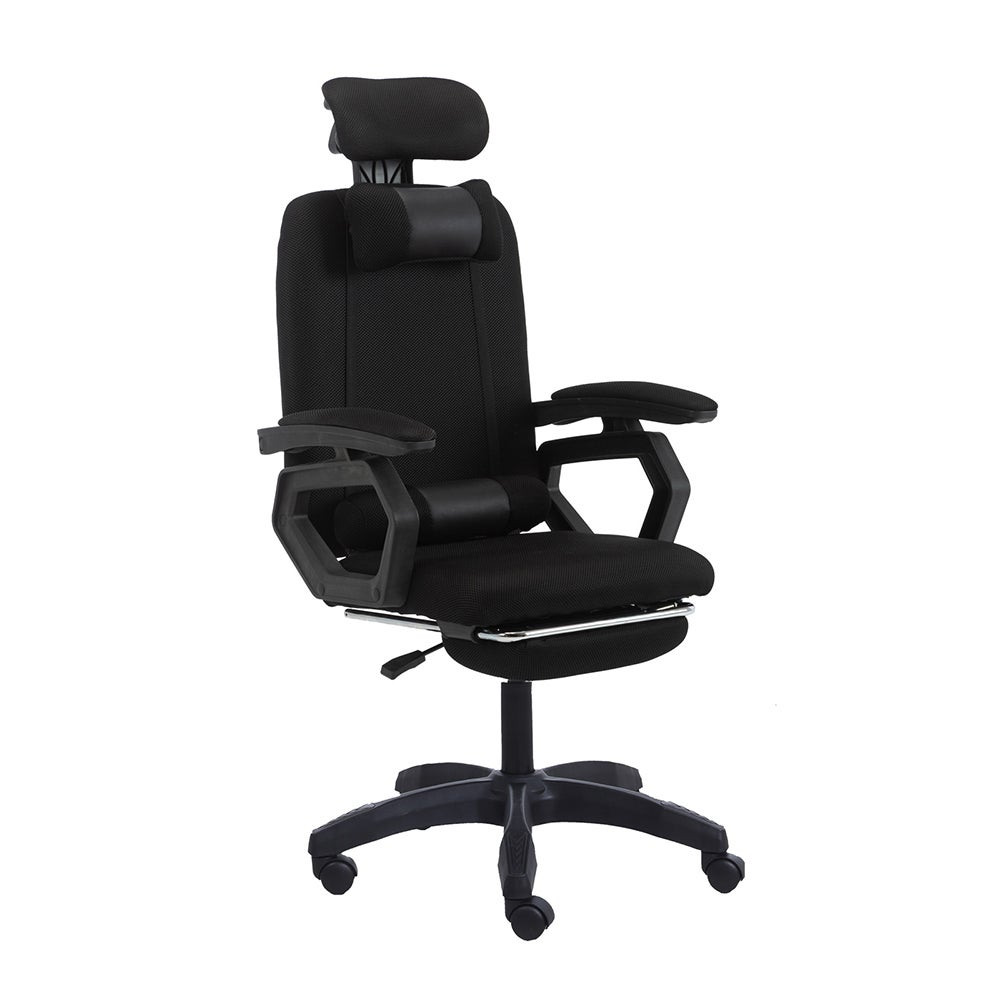 Mason Taylor Executive Office Computer Mesh Work Chair with Fan High Back Black