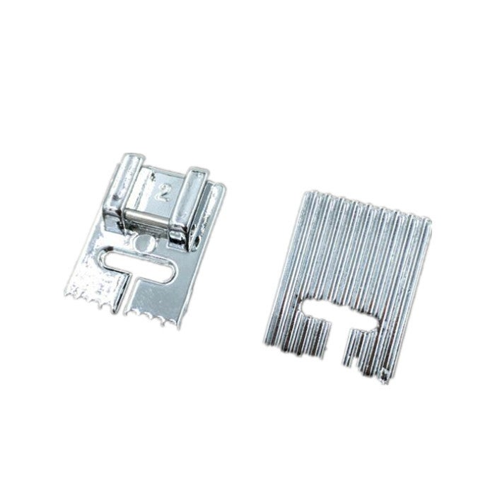 10 pcs Household Multi-Function Sewing Machine Accessories Tools Tank Presser Foot With 9 Grooves