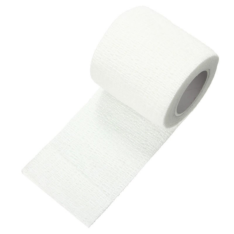 2PCS 450x5cm Waterproof First Aid Self-Adhesive Elastic Bandage Muscle Care Gauze Tape