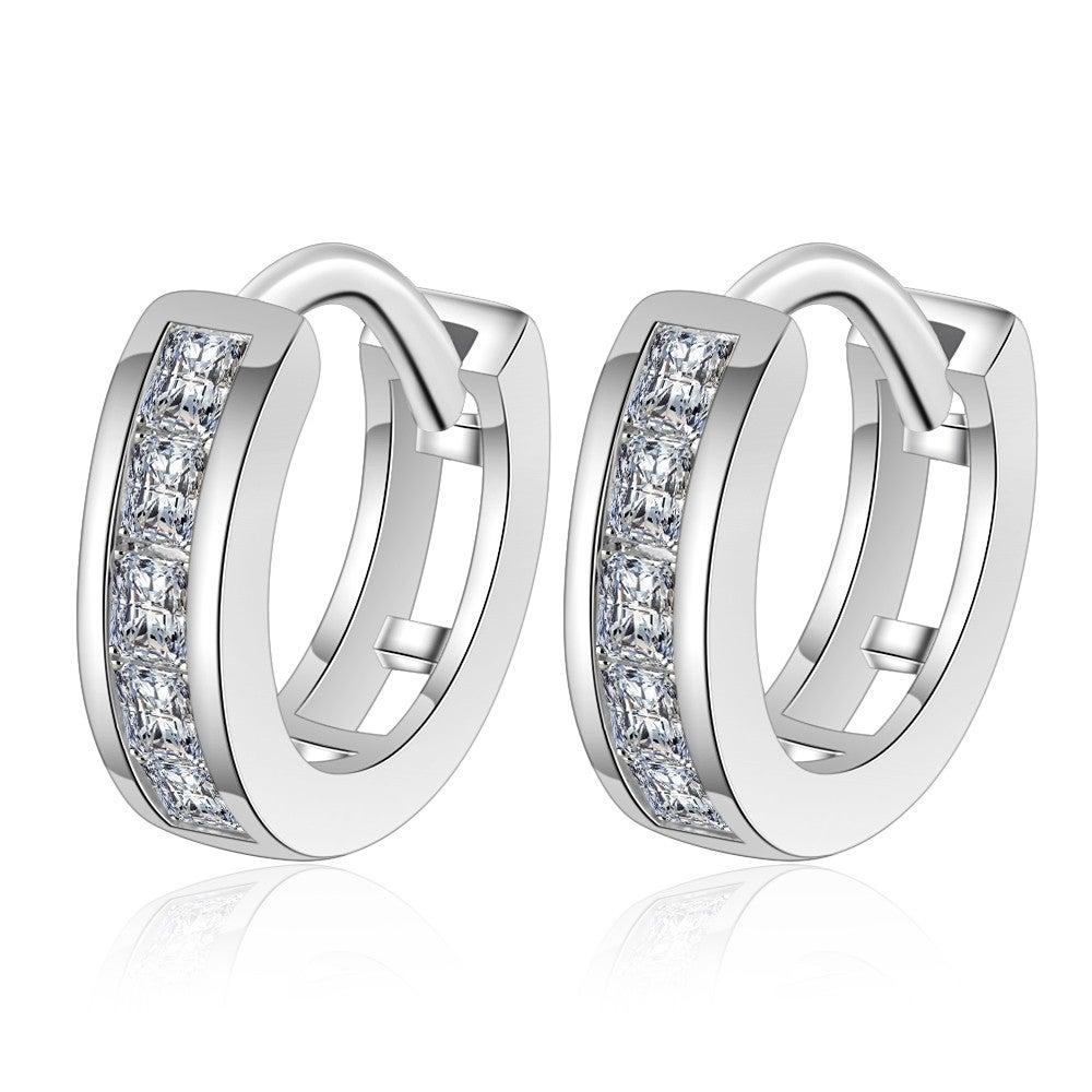 2PCS Copper Earrings with Earrings for Women Gifts