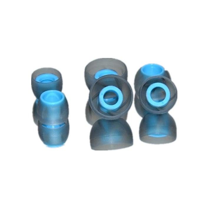 2SETS 3 X Pair L M S Size In-ear Silica Gel Ear Muffs Earplug For Earphone