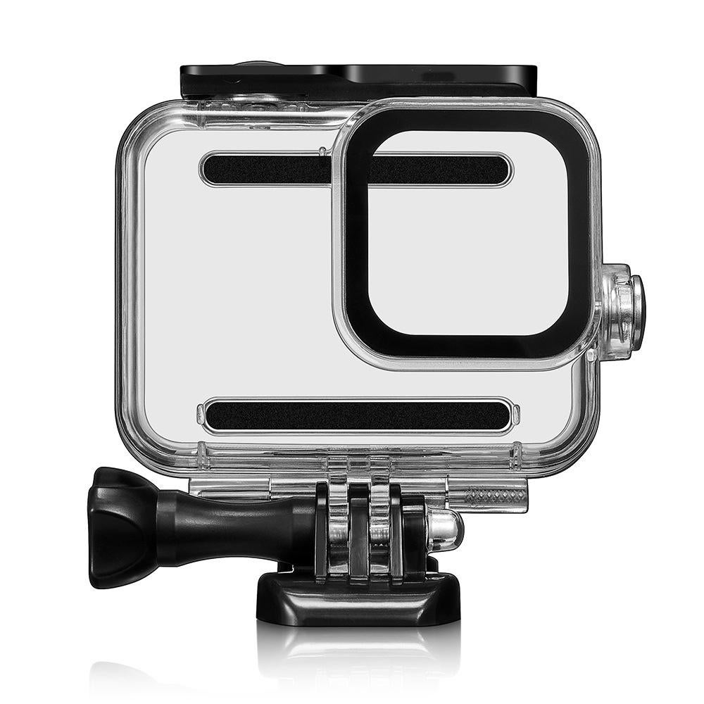 45M Waterprood Diving Protective Dustprood Shockproof Case Shell Cage for GoPro Hero 8 Black Action Sports Camera