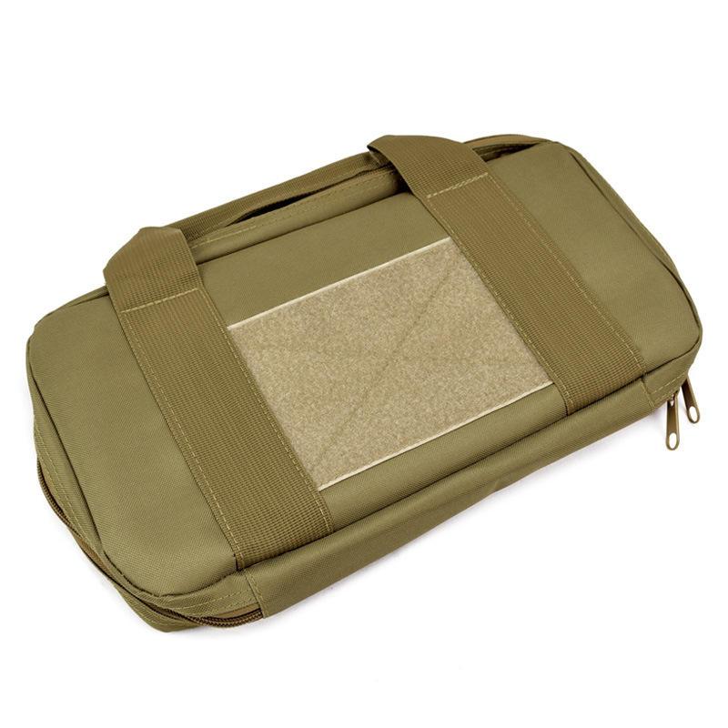 500D Oxford Fabric Tactical Bag Outdoor Portable Camouflage Handbag EARTHY COLOR