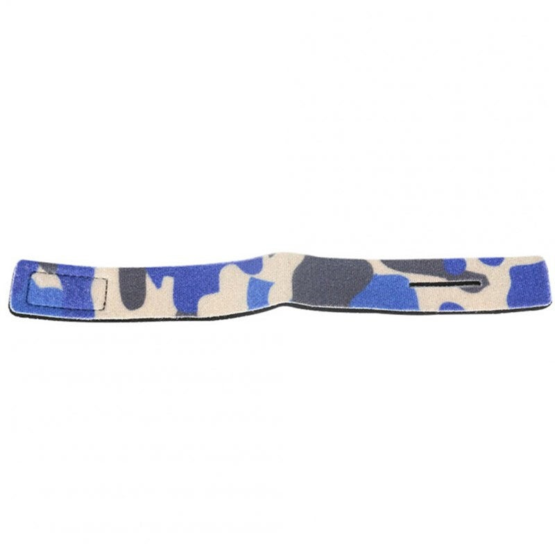 6PCS Fishing Tools Rod Tie Strap Belt Tackle Elastic Wrap Band Non-slip Firm Pole Holder Accessories Camouflage