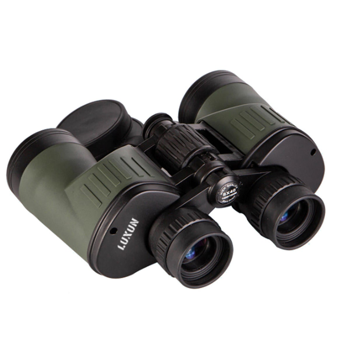 8X40 High Clarity Optical Telescope Binoculars for Hunting Traveling GREEN COLOR