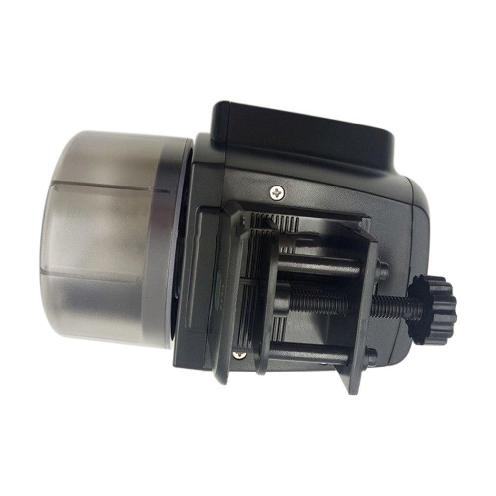 AF-2005D Aquarium Fish Tank Digital LCD Auto Timer Feeders Pet Feeding Dispenser, Capacity: 50-100g