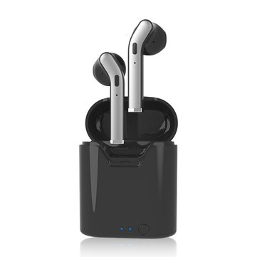 H17T Mini TWS Wireless Stereo Earbuds bluetooth 5.0 Earphone Hi-fi Sport Headphones with Charging Case for Phones BLACK COLOR