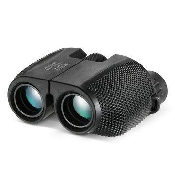 Lightweight Portable Binoculars Telescope 10x25 HD Bak4 Prism IPX6 Waterproof Telescope