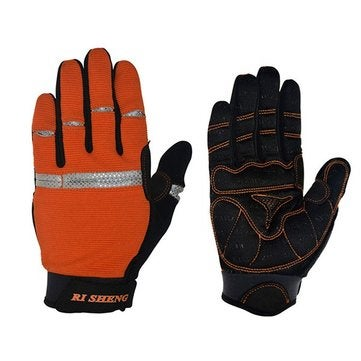 Mountain Bike Bicycle Gloves Cycling Riding Gloves Full Fingers Gloves Wearproof M SIZE