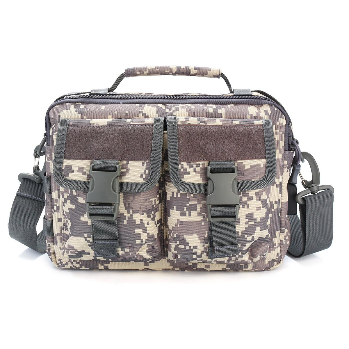 Outdoor Tactical Backpack Waterproof Multifunctional Military Climbing Hiking Cycling Shoulder Bags ACU COLOR