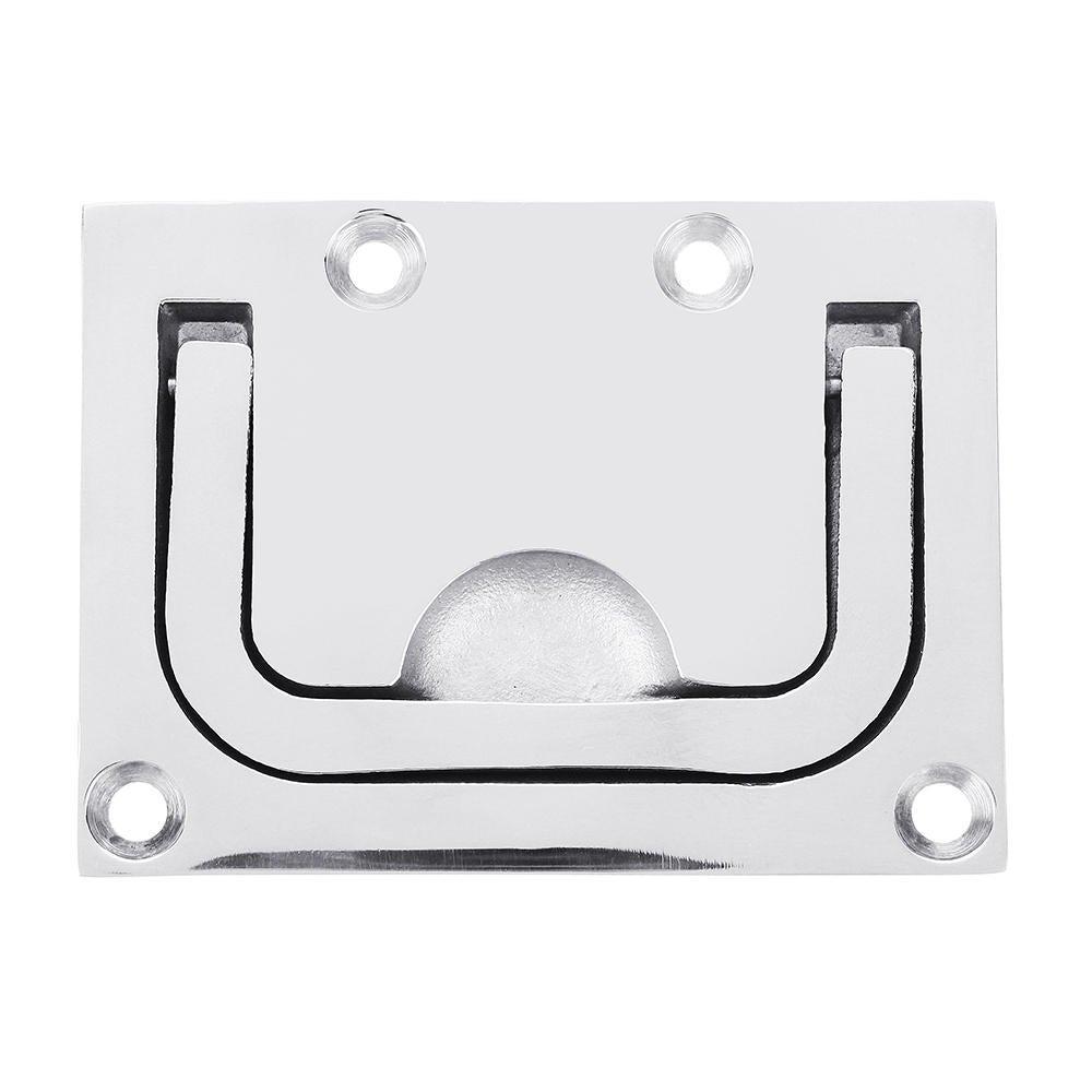 Stainless Steel 316 Flush Hatch Lift Ring Hatch Pull Handle Locker Cabinet Hardware