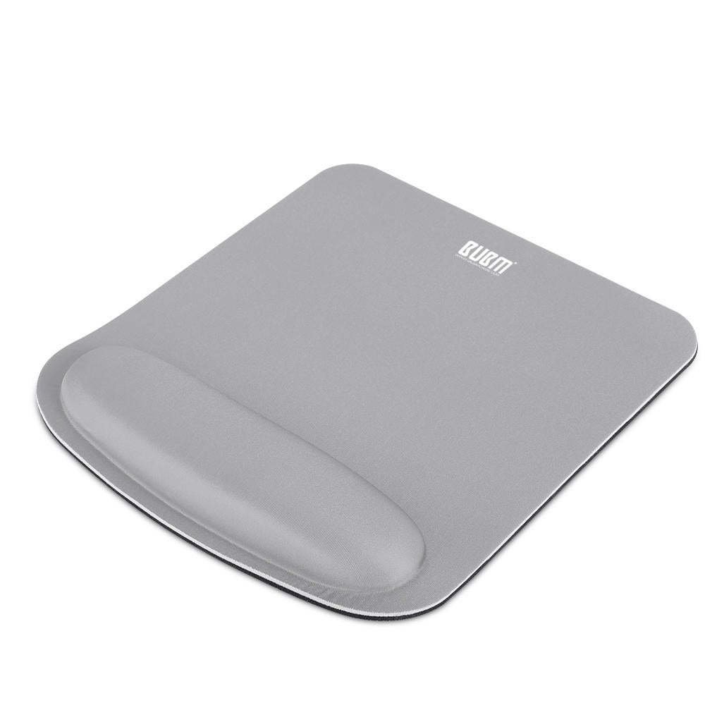 Wrist Rest Support Soft Silicone Mouse Pad for Laptop PC GRAY COLOR