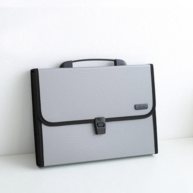 XIAOMI Ecosystem 5556 1 Pcs A4 Organ Bag Multi Tier Expanding Buckled File Folder Student Business Document Organizer Conference Pack Portfolio