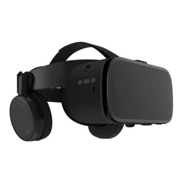 Z6 bluetooth Helmet 3D VR Glasses Virtual Reality VR Headset for Smart Phone Black