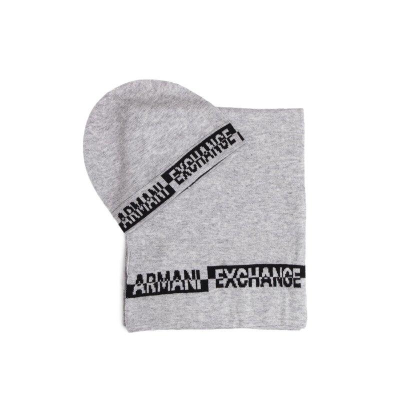 Armani Exchange Men's Scarf In Grey