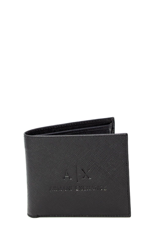 Armani Exchange Men's Wallet In Black