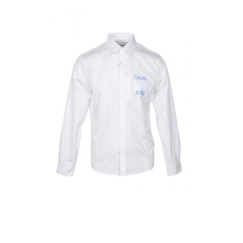 Calvin Klein Men's Shirt In White
