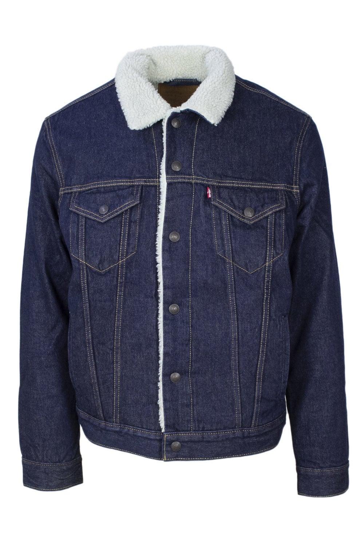 Levi`S Men's Blazer In Blue
