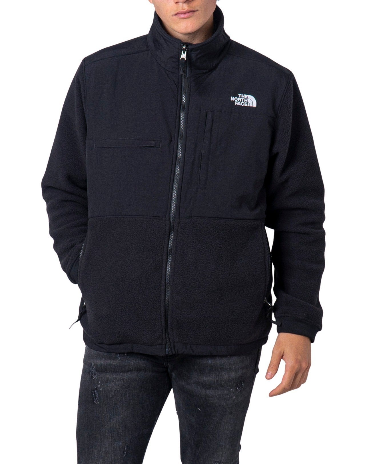 The North Face Men's Jacket In Black